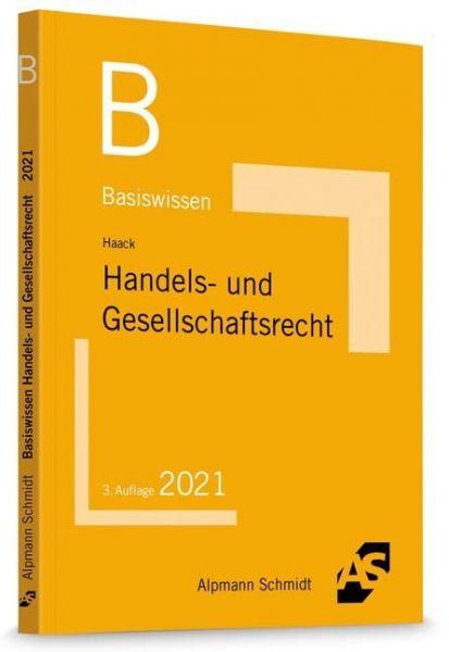 Image of Basiswissen Handels- und Gesellschaftsrecht