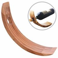 Laguiole Halterung für Weinflaschen - Bambus- L: 28,5 cm