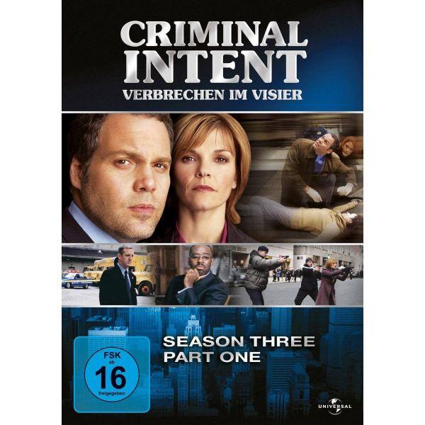 Criminal Intent Season 3.1 3Er