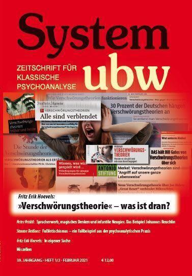 """Image of Verschwörungstheorie"""" - was ist dran: System ubw 1&2/2021"""""""