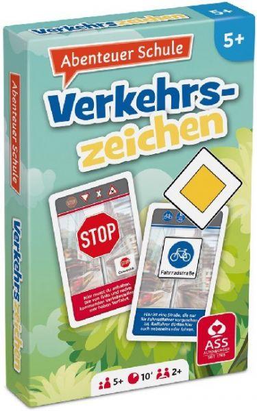 Image of Abenteuer Schule - Verkehrszeichen (Kartenspiel)