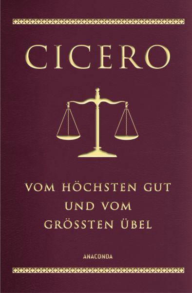 Image of Cicero, Vom höchsten Gut und vom größten Übel (Cabra-Lederausgabe): (De finibus bonum et malorum lib