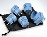 Travel Blue Weltweites Multi-Set Reise-Adapter, 5 teilig