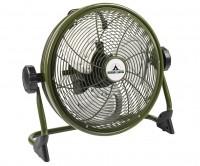 Bestron AOD12ACCU aufladbarer Bodenventilator 35cm, kabellos grün