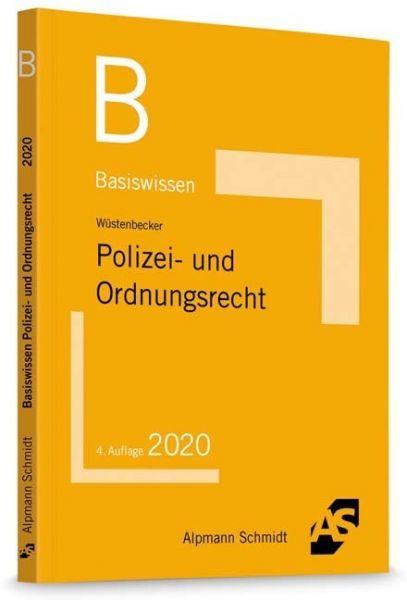 Image of Basiswissen Polizei- und Ordnungsrecht