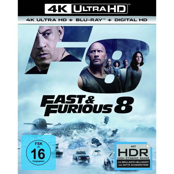 Fast & Furious 8 - 4K Uhd