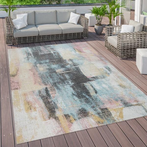 Outdoor Teppich Terrasse Balkon Abstrakt Muster