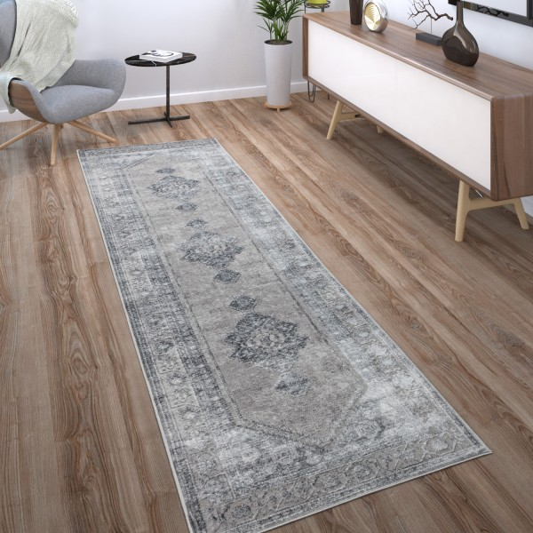 Teppich Wohnzimmer Vintage Orientalisches Muster