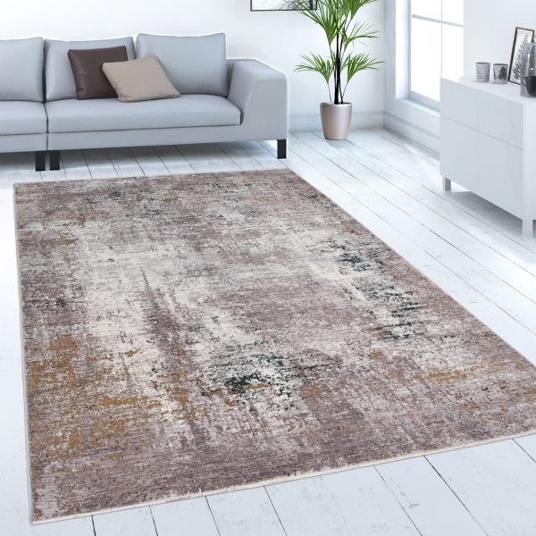 Rug Dining Room Abstract Vintage Pattern