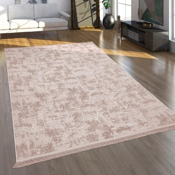 Teppich Weich Soft Orient-Look Wohnzimmer