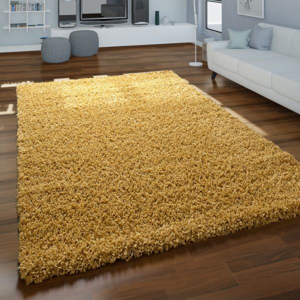 Shaggy hoogpolig tapijt zacht bruin
