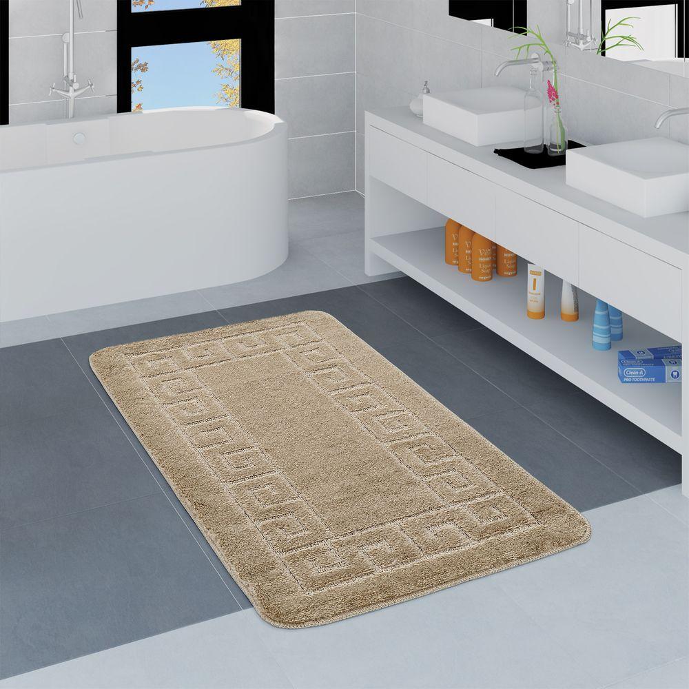Badezimmer Teppich Bordüre Versch. Größen u. Farben