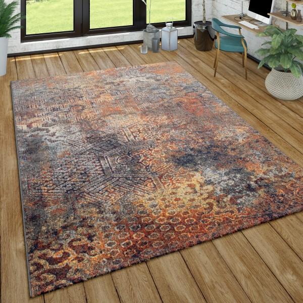 Rug Used Look Ethnic Design Living Room