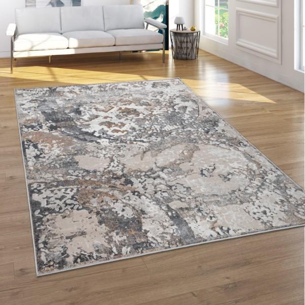 Teppich Wohnzimmer Vintage Abstraktes Muster