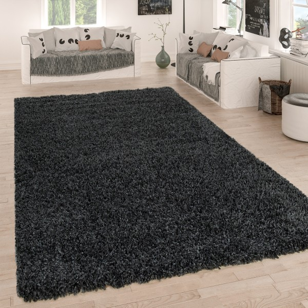 Shaggy Rug Deep-Pile Soft
