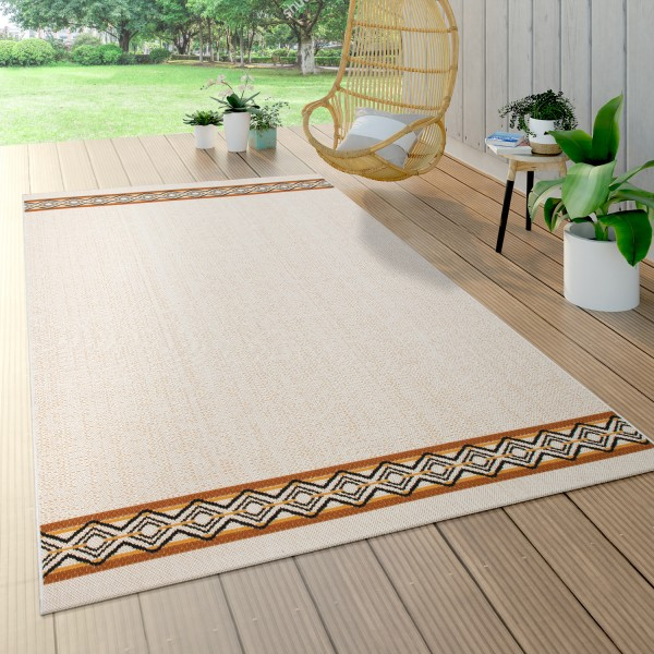 Outdoor Rug, Terrace and Balcony, Geometric Pattern