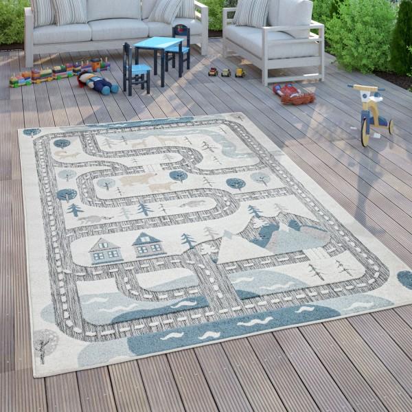 Kinder Teppich Kinderzimmer Spielteppich Straße