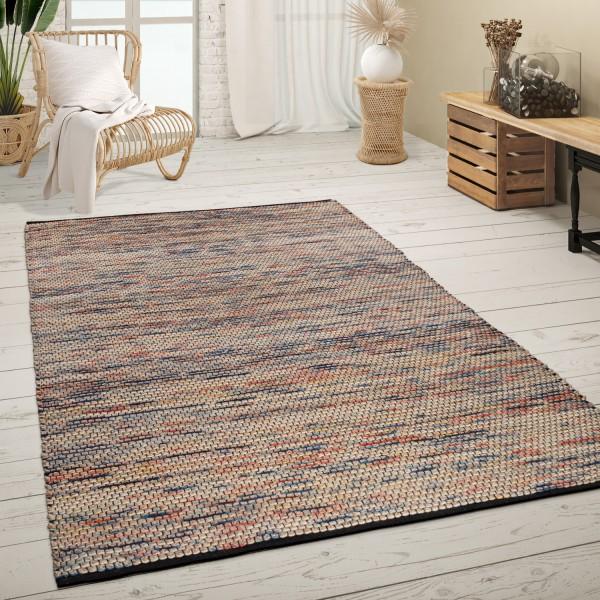 Large Rug Handmade Boho Style