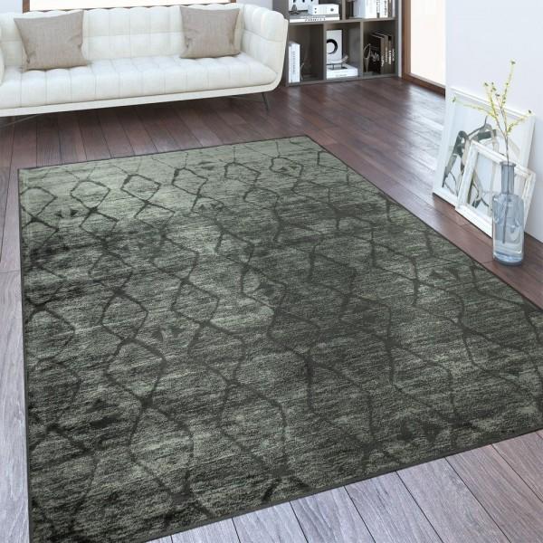 Designer Teppich Nomaden Muster Taupe