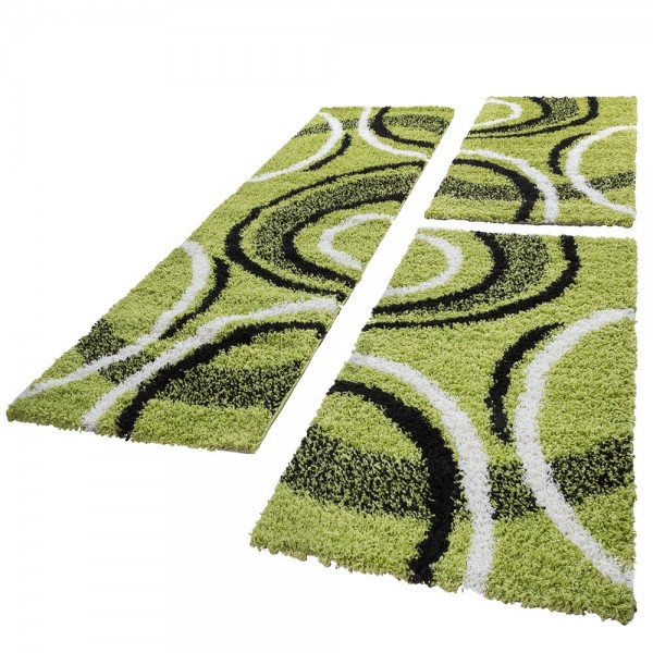 Teppich Läuferset 3Tlg Mit Modernem Muster