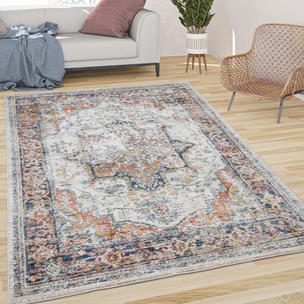 Teppich Esszimmer Orientalisches Muster Bordüre