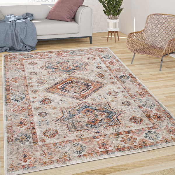 Rug Dining Room Pattern Oriental With Border