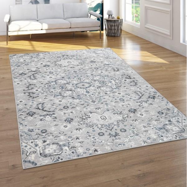 Teppich Wohnzimmer Kurzflor Orient Ornamente