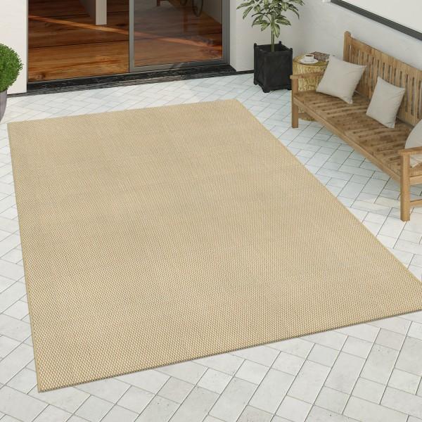 In- & Outdoor Teppich Küchenteppich Einfarbig Sisal