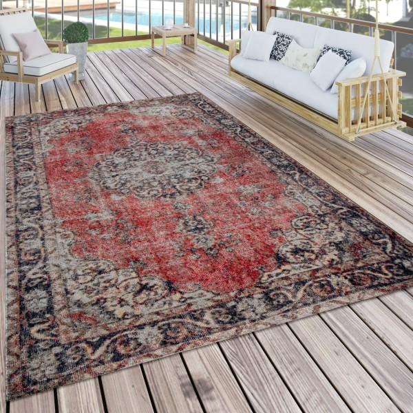 Tapis Intérieur & Extérieur Style Oriental Balcon Terrasse