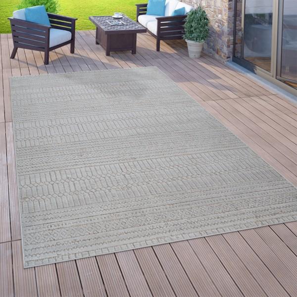 In- & Outdoor-Teppich 3-D-Design Balkon Terrasse