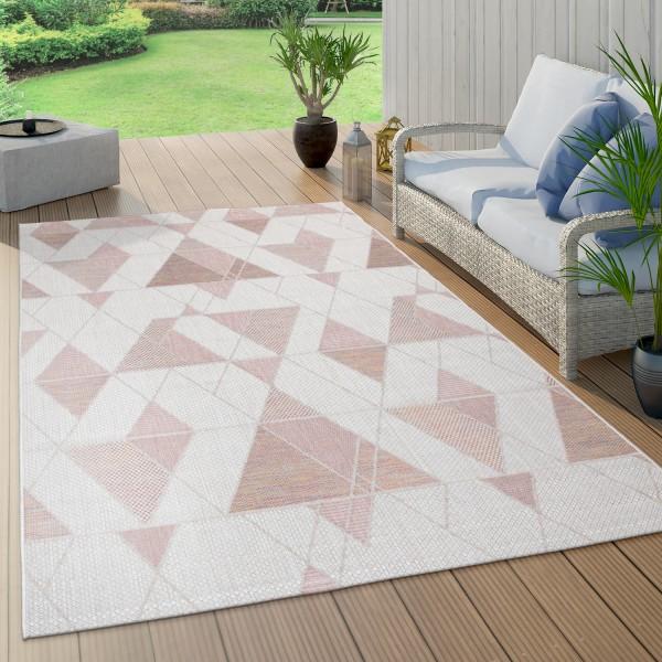 Indoor & Outdoor Rug Diamond Pattern Balcony