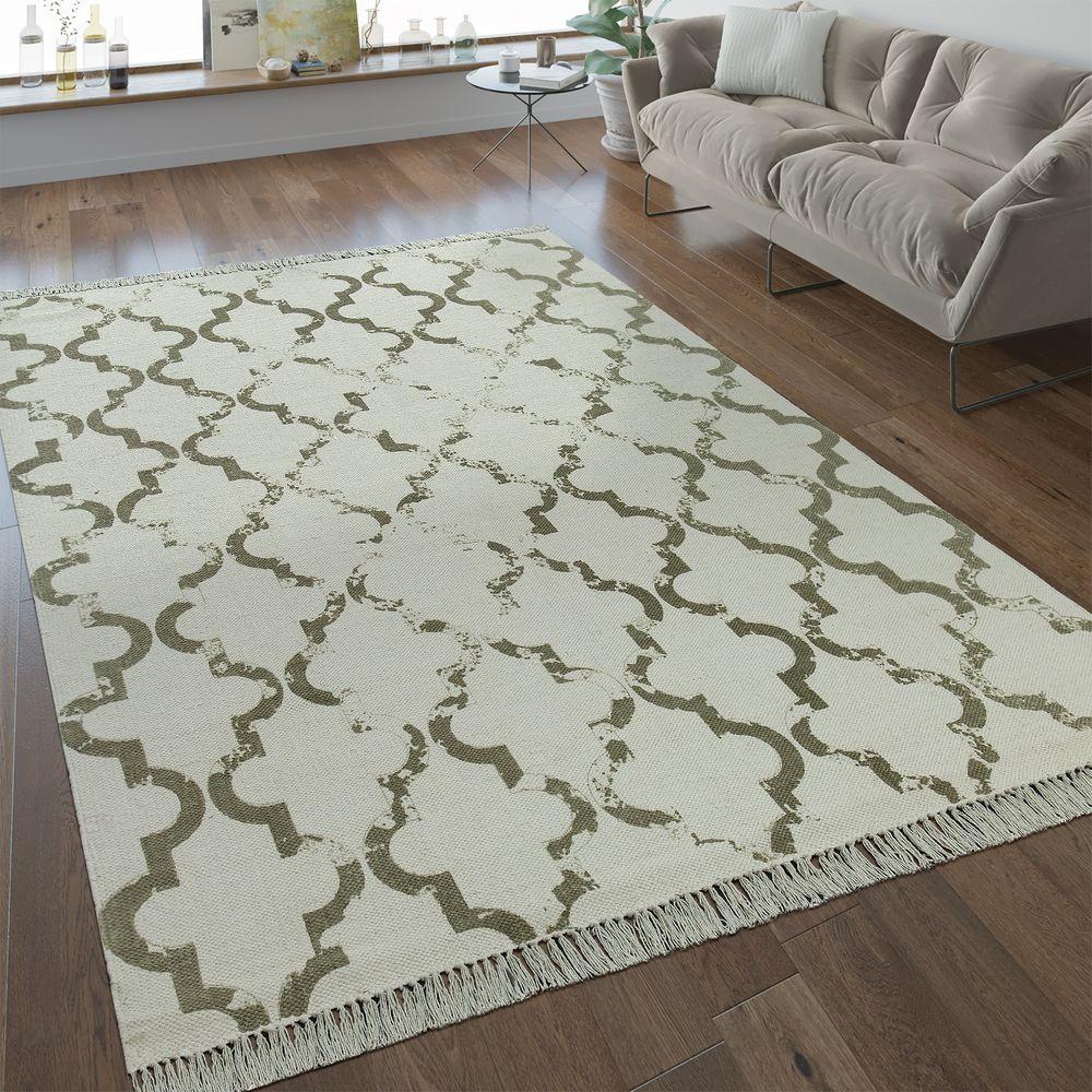 Teppich Flachgewebe Marokkanisches Muster Rug24