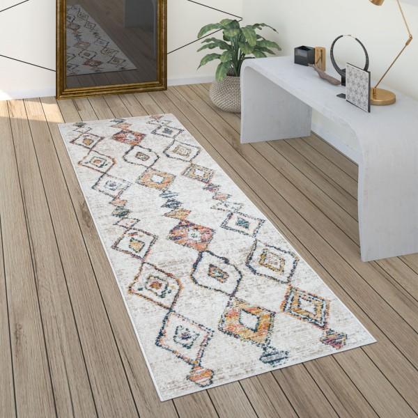 Teppich Wohnzimmer Vintage Ethno Muster