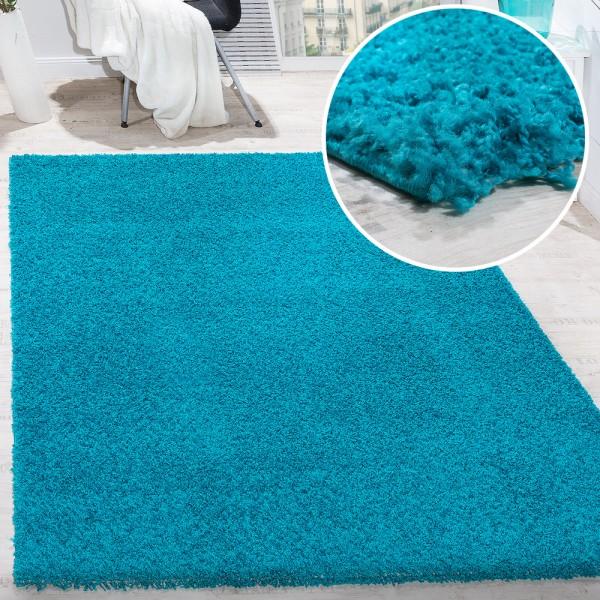 Teppich Wohnzimmer Hochflor Shaggy Langflor