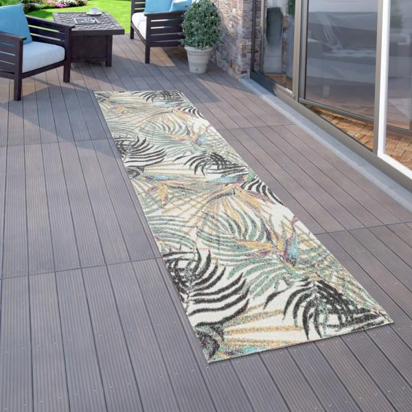 Vloerkleed voor buiten terras balkon planten patroon