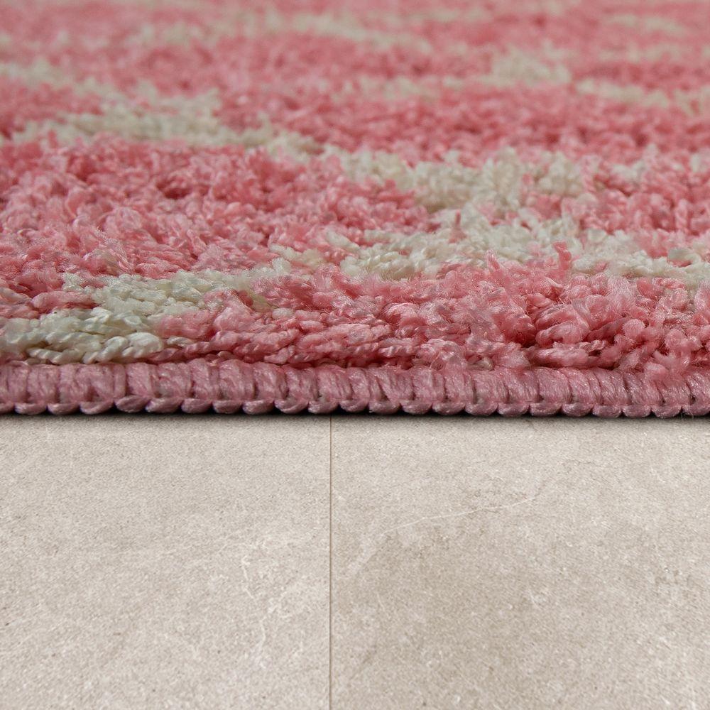 Badematte Badezimmer Teppich Rauten Design