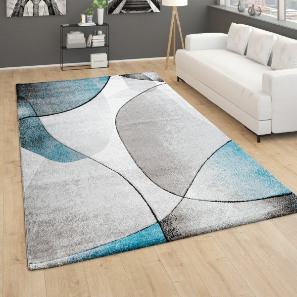Large Rug 3D Effect Abstract Pattern