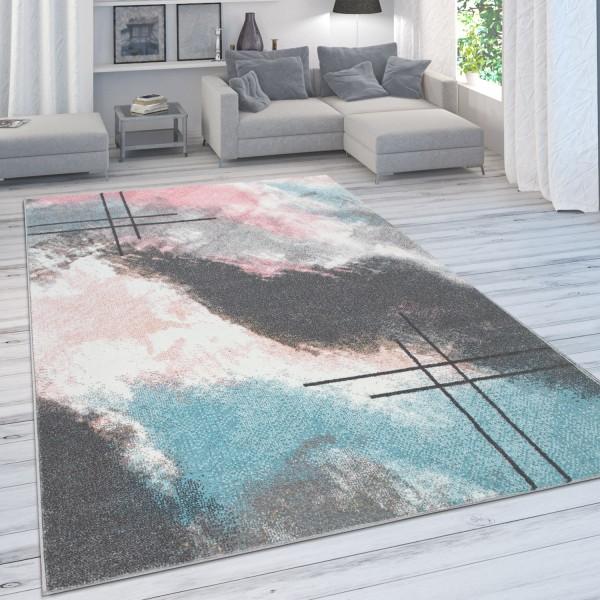 Alfombra Degradado De Color Tonos Pastel Abstracta