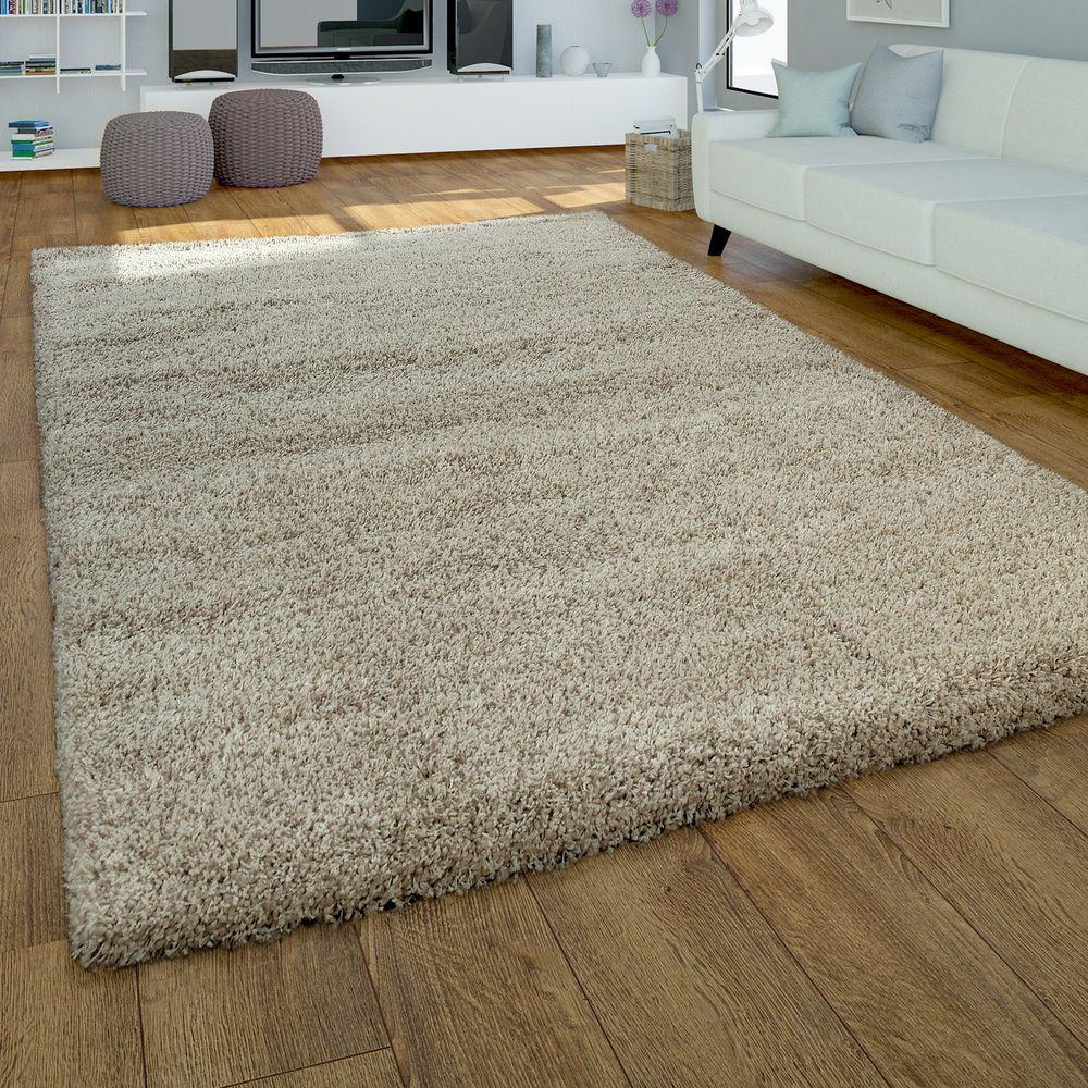 Hochflor-Teppich Wohnzimmer Modern