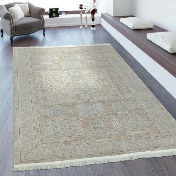 Orientteppich Maya Muster Beige