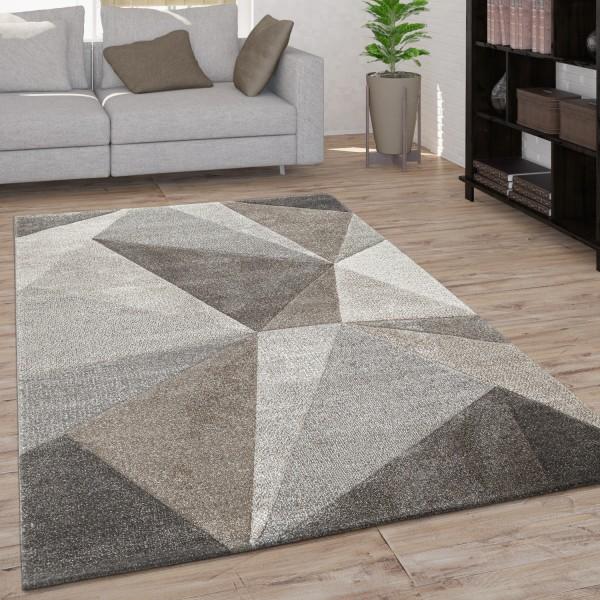 Teppich Wohnzimmer Geometrisches Muster 3D Optik