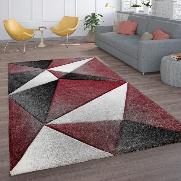 Tappeto Salotto Pelo Corto Per Interni Geometrico