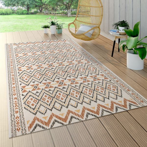 Outdoor Rug For Terrace and Balcony With Pattern