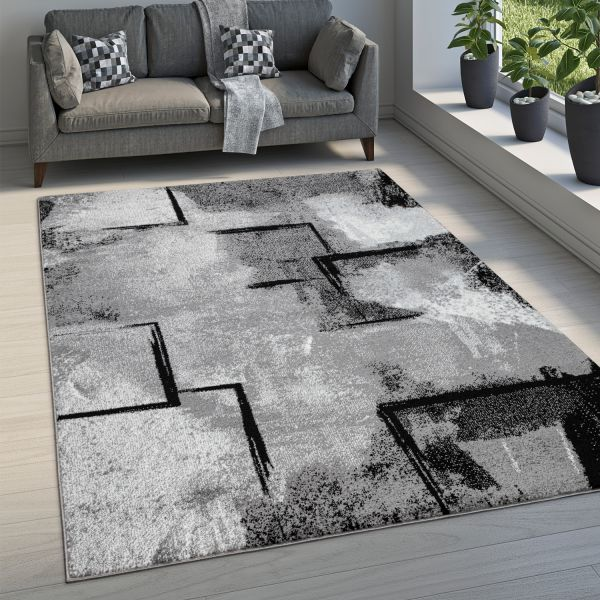 Rug Dining Room Abstract Pattern Geometric
