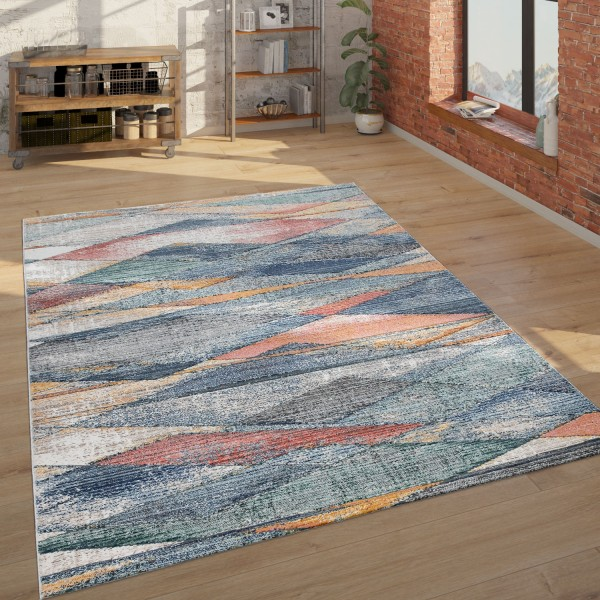 Teppich Wohnzimmer Geometrisches Muster