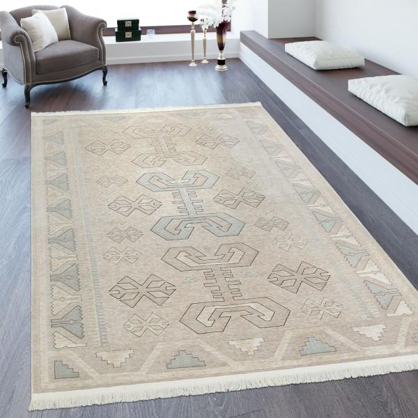 Orientteppich Maya Muster Beige Creme
