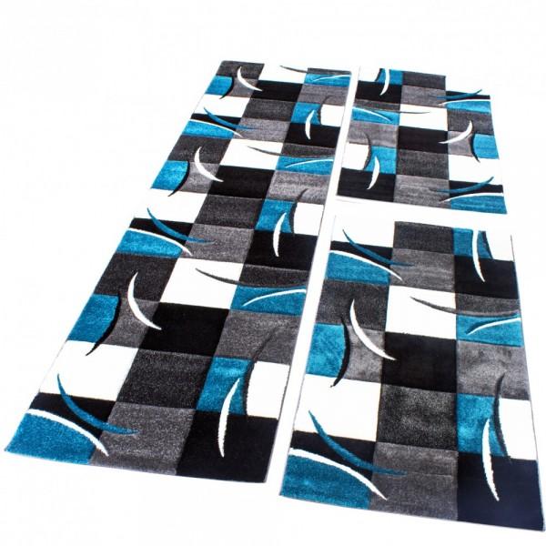 Teppich Läufer-Set Mit Geometrischen Mustern