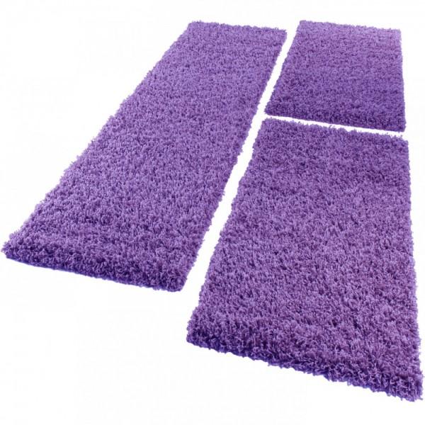 Tapis Contour Violet 3 Pcs