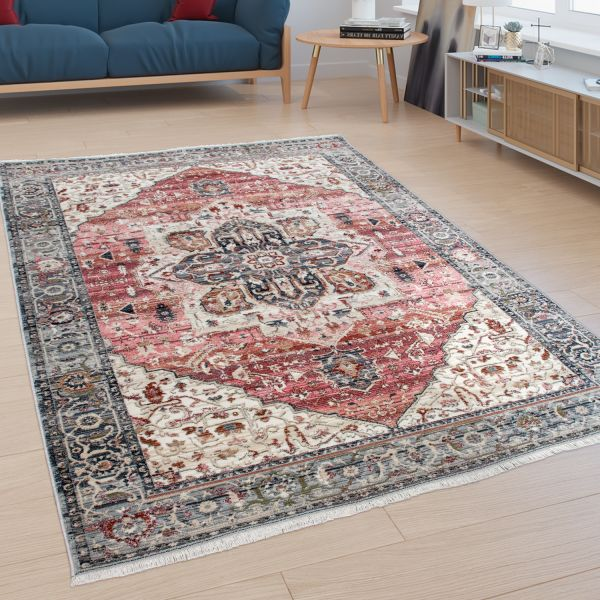 Rug Living Rooms Oriental Style Border