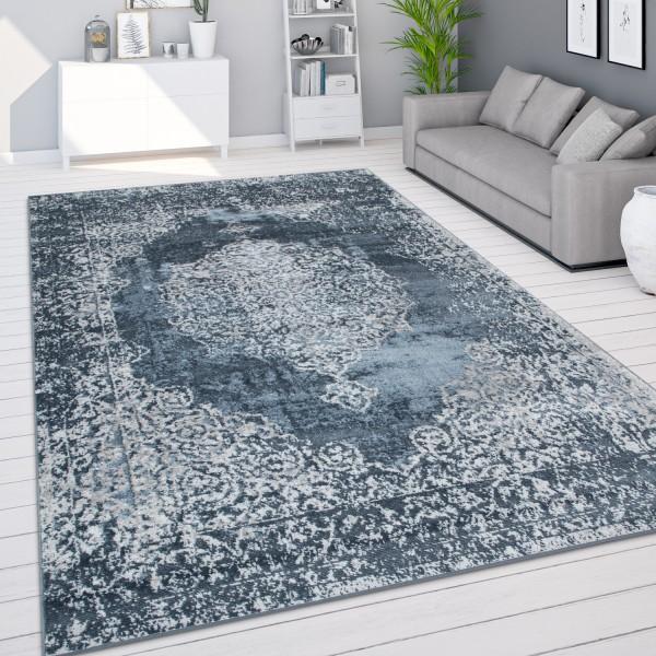Teppich Wohnzimmer Vintage Orient Muster Modern